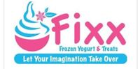 Fixx frozen yogurt, smoothie and wraps