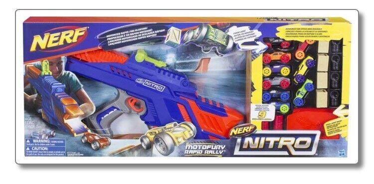 Brand New Nerf Nitro Motofury Rapid Rally Set