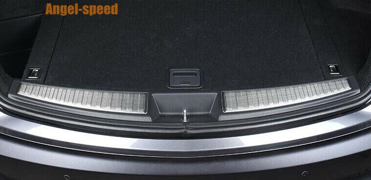 2019-2021 For Acura RDX Stainless steel Inner Rear Bumper ...