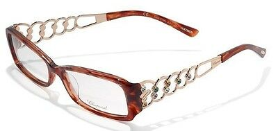 Chopard VCH070S VCH 70S 09ZB Red Rose Gold Eyewear glasses frame 53-15-140 NEW