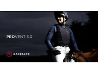 AS NEW Racesafe Provent 3.0.Adult LARGE Uk 16 - 18 - 20 .BETA 2009