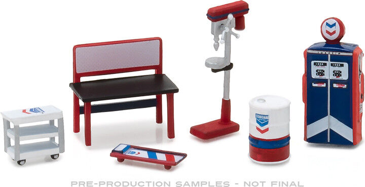 GREENLIGHT MUSCLE SHOP TOOLS STANDARD OIL ACCESSORIES FOR 1/