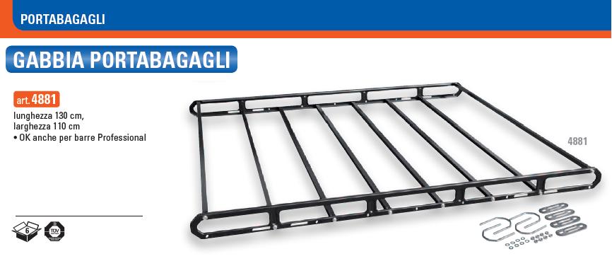 Gabbia Portabagagli GEV | 130x110 | Gabbia Portapacchi Portatutto GEV | 4881