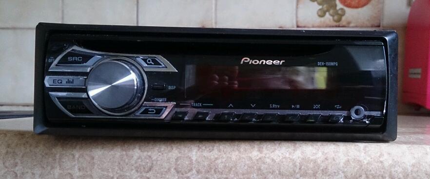 Pioneer deh 150 mpg car radio working in sherborne dorset gumtree pioneer deh 150 mpg car radio working publicscrutiny Choice Image