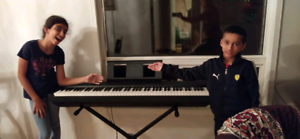Piano lessons in Mississauga ($18 for 30mins; $25 for 45mins).
