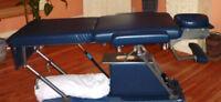 Table de massage hydraulique à vendre