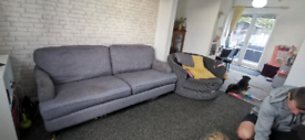 Free sofa and spinning chair need gone today!