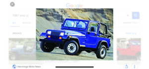 Wanted. Jeep YJ or CJ