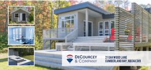WATERFRONT on GRAND LAKE – Modern Design Meets Cottage Country!