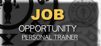 Personal Trainer Job Available