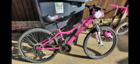 Girls junior apollo bike