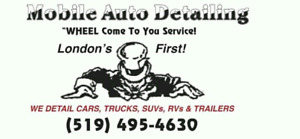 MOBILE AUTO DETAILING  WHEEL COME TO YOU LONDON'S FIRST !
