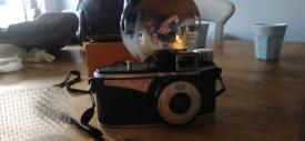 Camera vintage agilux flash