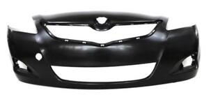 New Painted 2007 2008 2009 2010 2011 2012 Toyota Yaris Sedan Front Bumper & FREE shipping