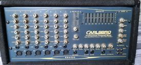 Carlsberg power mixer and speakers