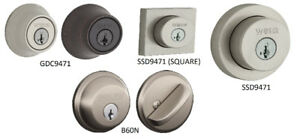 INTERIOR AND EXTERIOR DEADBOLTS (BRAND NEW, IN BOX)