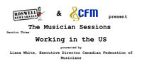 Oct 28th Working as a Musician in the US