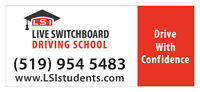 Grand Opening! Live Switchboard Driving School