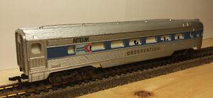 HO Amtrak Set - Locomotive & Lighted Coaches Kingston Kingston Area image 9
