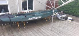 Malibu fishing kayak