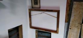 Picture frame vintage art deco