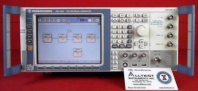 Rohde Schwarz Smj100a Vector Signal Generator 100 Khz To 3 Ghz