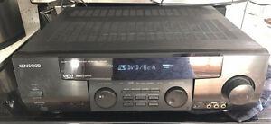 kenwood stereo surround sound system