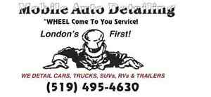 MOBILE AUTO DETAILING   WHEEL COME TO YOU!   RIGHT TO YOUR DOOR!