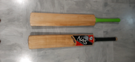 Cricket bat and grips