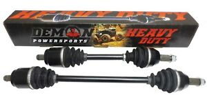 CANAM OUTLANDER EXTRA HEAVY DUTY AXLES BY DEMON at ORPS Parts