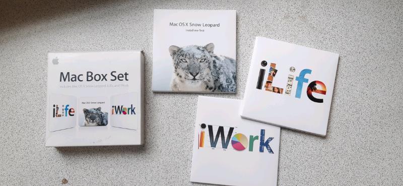 Apple Mac Box Set iWork iLife & Mac OS X Snow Leopard 10 6 3   in  Kensington, London   Gumtree