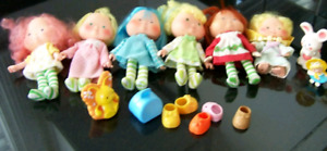 Strawberry shortcake vintage lot