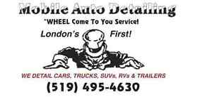 MOBILE AUTO DETAILING   WHEEL COME TO YOU!  RIGHT TO YOUR DOOR