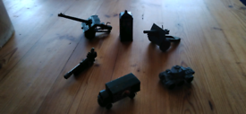 Military die cast toys