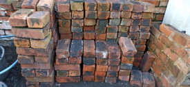 Imperial Red Bricks from 1930s Garden Wall £1 each