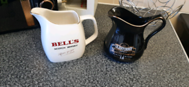 X2 Wiskey Jugs collectable items