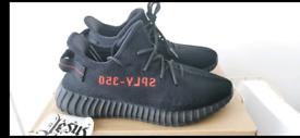 Adidas Yeezy Boost 350 V2 UK 9 BRED BRAND NEW
