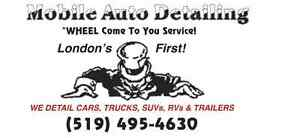 MOBILE AUTO DETAILING  WHEEL COME TO YOU !  RIGHT TO YOUR DOOR !