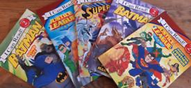 DC comics kids reading books