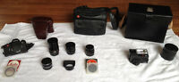 Leica Camera Lenses and Accesories