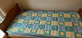 Single bed with mattress_£120