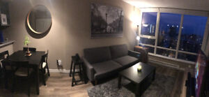 Fully Furnished 1 Bedroom + Den in Yaletown for Rent at The Max