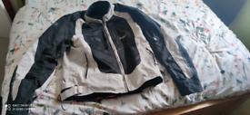 Motorbike air mesh jacket as new