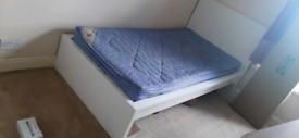 Malm White Single Bed