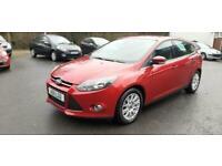 2011 Ford Focus 1.6 125 Titanium 5dr HATCHBACK Petrol Manual
