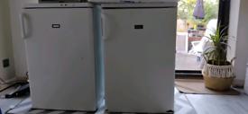 Zanussi under counter freezer used