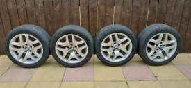 BMW X3 M sport 18 alloy wheels Staggered