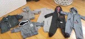 Linge bébé Gap Carter's et autres marques soulier croc bébé