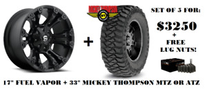 Jeep Wrangler Rims & Tires/ FUEL+ MICKEY THOMPSON