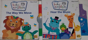Baby Einstein The Way We Move & Hear the Music BOARD Books